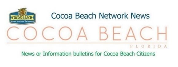 CBNN - Cocoa Beach Network News. News or Information bulletins for Cocoa Beach Citizens